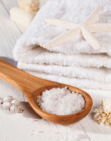 Sea salt as an acne treatment